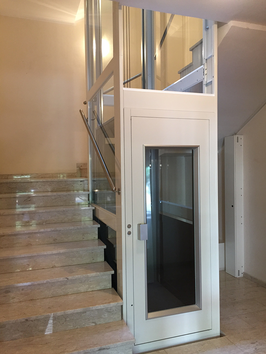 EW Lux Electric Lift Installed In The Province Of Bolzano